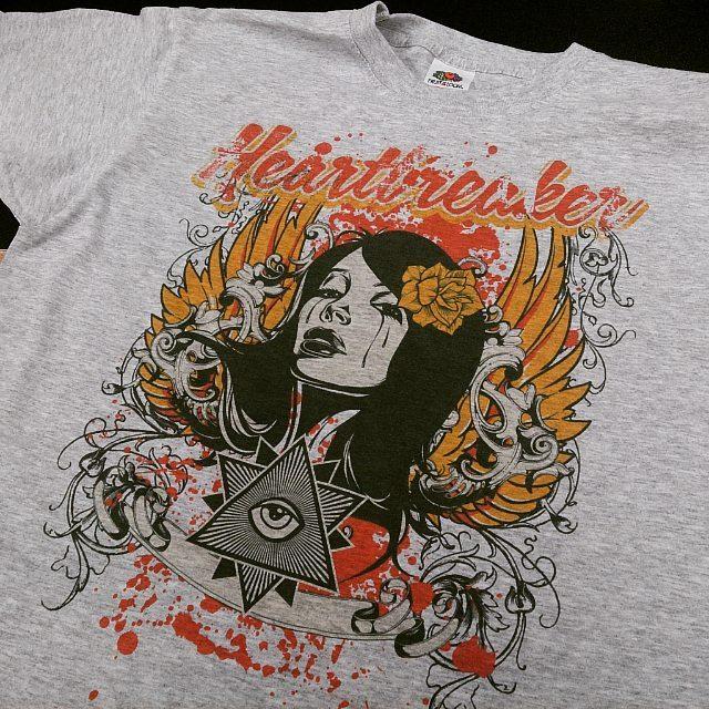 serigrafiar una camiseta
