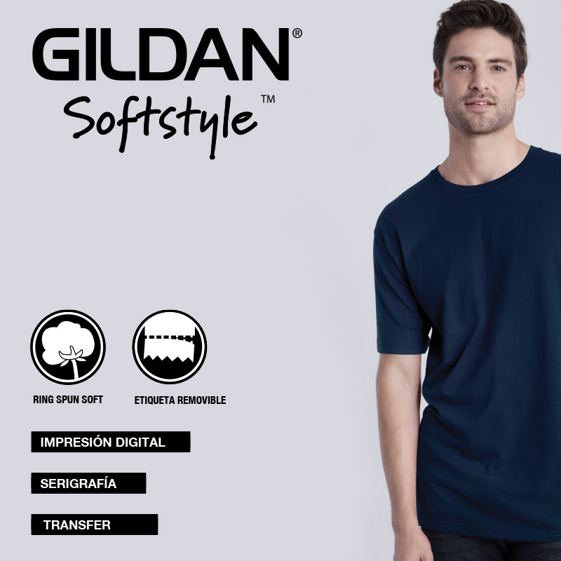 camisetas-softstyle-gildan
