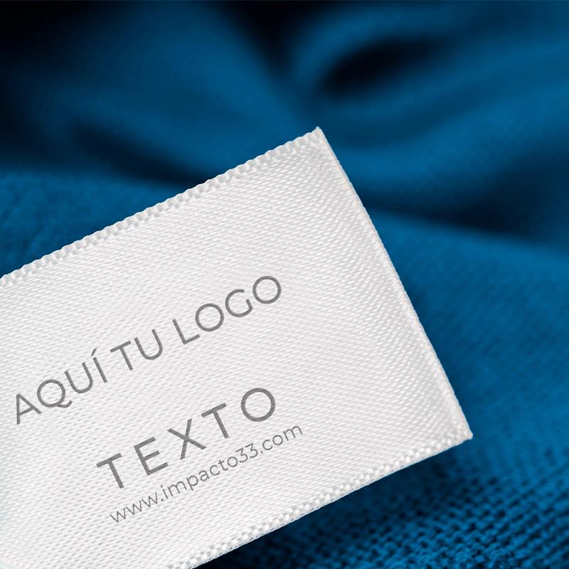 etiquetas de ropa personalizadas