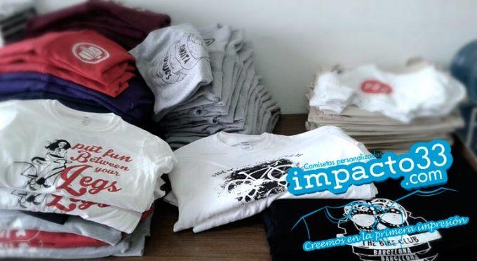 impresiona de camisetas personalizadas