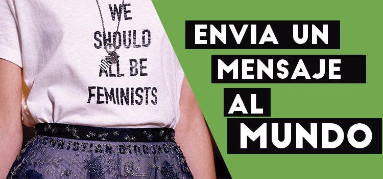 camisetas feministas, sudaderas feministas, remetas feministas