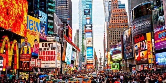 Colores en publicidad new york