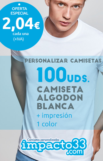 oferta camisetas