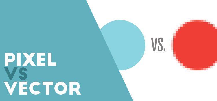 diferencia entre pixel y vector